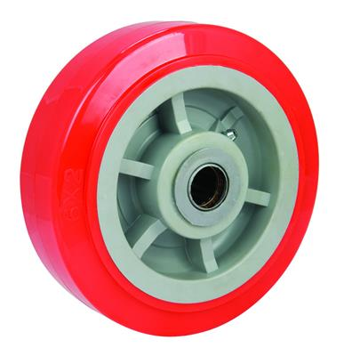200mm Diameter Polyurethane Tyred Wheel