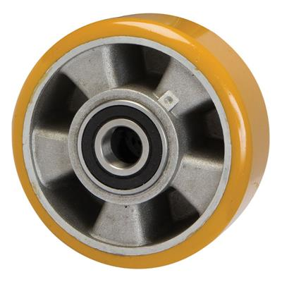 125mm Diameter Polyurethane Tyred Wheel